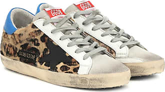Golden Goose Superstar leopard sneakers