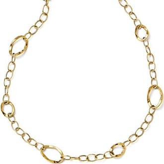 Quality Gold 14k Yellow Gold Italian 10mm Open Link Necklace, 17-19 Inch