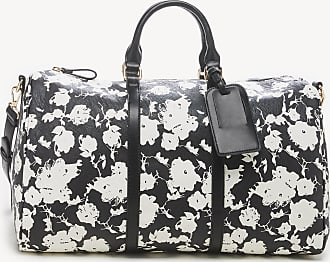 Sole Society Womens Cassidy Weekender Vegan Leather In Color: Black Floral Bag From Sole Society