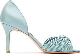 Sarah Chofakian Sapato de couro - Azul