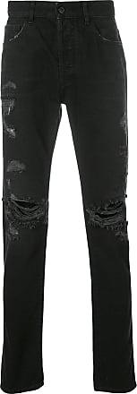 Marcelo Burlon Wing slim-fit jeans - Black