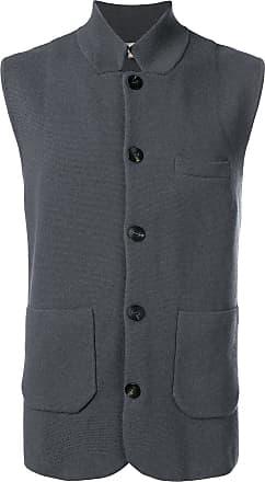 N.Peal Milano waistcoat - Grey