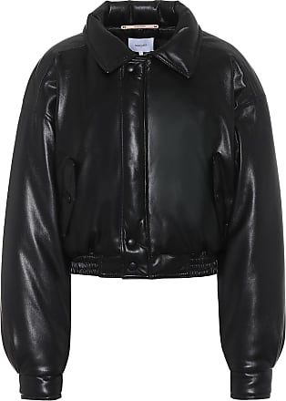 Nanushka Bomi faux-leather jacket