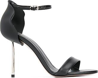 Le Silla Sandália com salto metálico - Preto