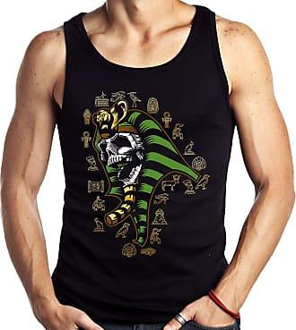 Dragon Store Camiseta Regata Ramses Caveira Mumia Egito Sem Manga
