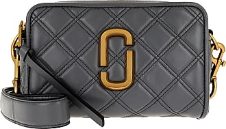 Marc Jacobs Cross Body Bags - The Soft Shot 21 Leather Dark Grey - grey - Cross Body Bags for ladies