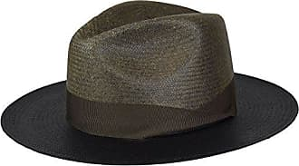 Bailey Mens Maddow Fedora Trilby Hat, Bleached Black, S