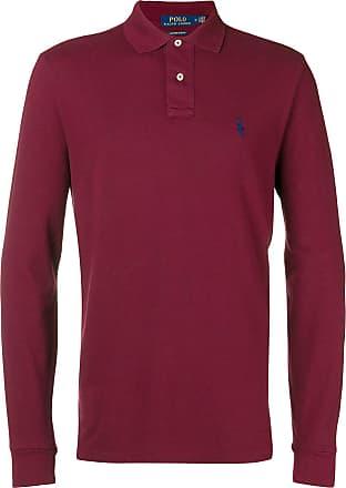 Polo Ralph Lauren polo classique à manches longues - Rouge 549369cc9223