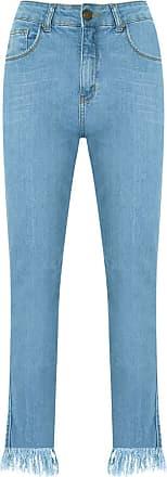 Pop Up Store Calça jeans cropped - Azul