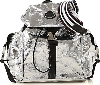Moncler Backpack for Women On Sale, Silver, polyamide, 2017, one size