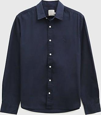 Malwee Camisa Malwee Reta Logo Azul-Marinho