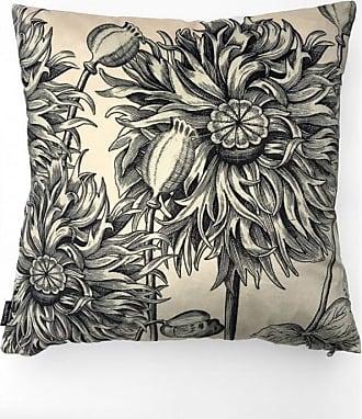 Vanilla Fly White Poppy Cushion - 50 x 50