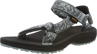 Teva Womens Winsted Ws Ankle Strap Sandals, Turquoise (Bramble Dark Shadow 558), 9 UK
