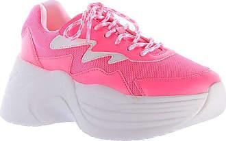 Damannu Shoes Tênis Chunky Jasmine Neon Pink - Cor: Pink - Tamanho: 38