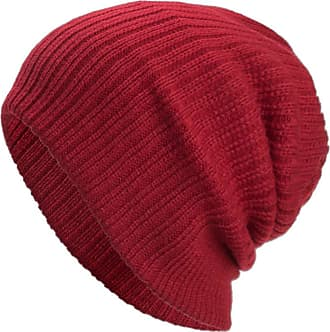 Yvelands Men Slouch Beanie Warm Knitted Hat and Circle Scarf Skiing Cap set Womens Winter Knitted Hat Bobble Pom Pom Outdoor Sports Hat Sets
