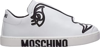 Moschino Women Womans Drawing Sneakers rosa 4 UK