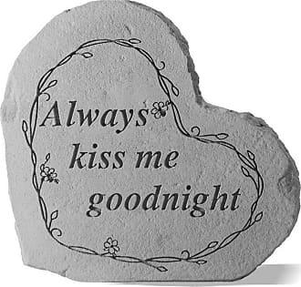 Kay Berry Always Kiss Me Garden Stone - 8507