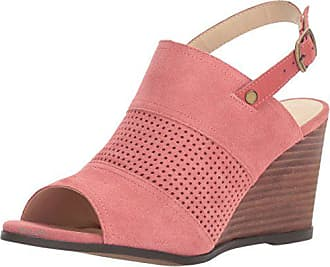 Very Volatile Womens Hyde Wedge Sandal Coral 10 B US
