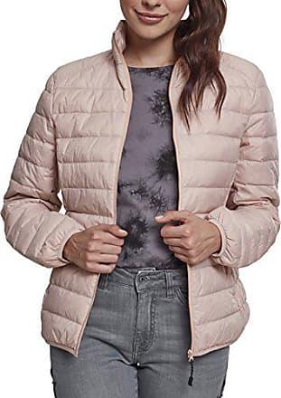 a03730a8978ef Urban Classics Ladies Basic Jacket, Blouson Femme, Rosa (Light Rose 00838),