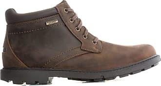 Rockport Mens Mens Storm Surge Plain Toe Boots in Brown - UK 6.5