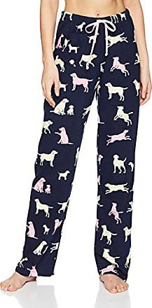 Hatley Damen Womens Jersey Pant-Book Animals Bear Schlafanzughose