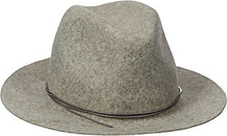 Hat Attack Womens Wool Felt Avery Fedora Hat, Oatmeal Heather/Taupe, One Size