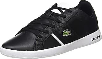Lacoste Mens Novas 120 1 SMA Trainers, Black (Blk/Wht 312), 8.5 UK