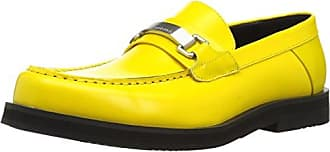 ea0687cca21e Calvin Klein Mens Lyric Slide Sandal Cyber Yellow 11 M US