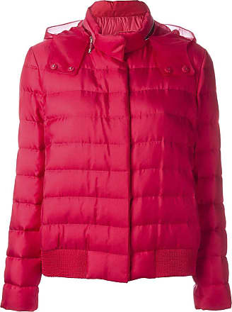 Moncler Womens Organza Hood Puffer Jacket - The Webster