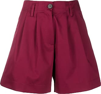 Forte_Forte high-waisted pleated shorts - PINK