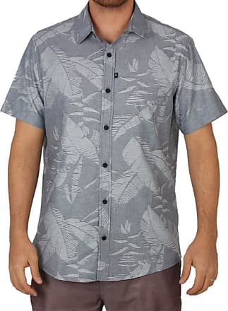 Lost Camisa Lost Jungle Jacquard - Azul - GG