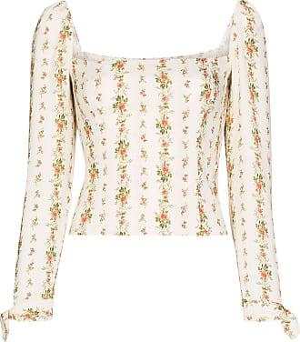 Reformation Blusa Ariana com estampa floral - Estampado