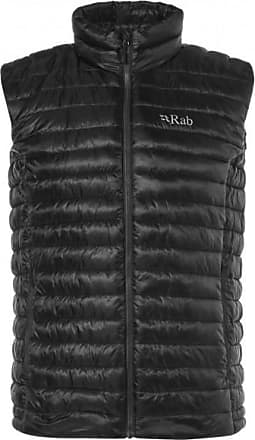 RAB Microlight Vest Gilet in piumino Uomo   nero