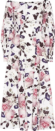 Erdem Pollina floral cotton-poplin dress