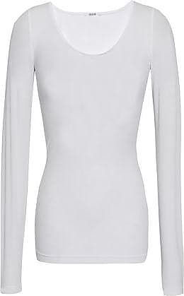 Wolford Wolford Woman Buenos Aires Stretch-knit Top White Size XS