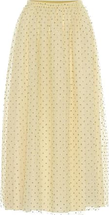 Red Valentino Tulle midi skirt