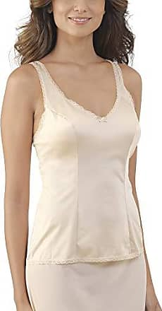 Vanity Fair Womens Plus Size Daywear Solutions Built Up Camisole 17760, Damask Neutral, 40