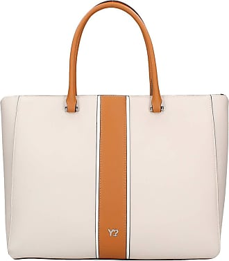 Y Not YNOT Womens shoulder bag, embossed synthetic beige, one compartment with internal pockets.GRA-004S0. BIOSA BAGS