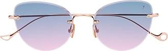 Eyepetizer Ambre gradient-effect sunglasses - Dourado