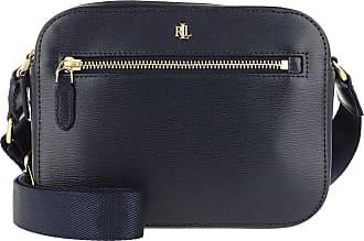 Lauren Ralph Lauren Cross Body Bags - Hayes Saffiano Crossbody Bag Medium Lauren Navy - blue - Cross Body Bags for ladies