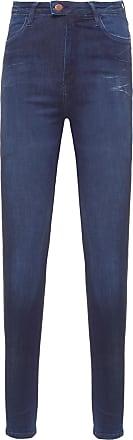 Replay Calça Jeans Super Skinny Hw Touch - Azul