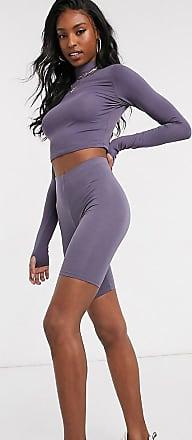 Asos Tall ASOS DESIGN Tall legging short-Purple