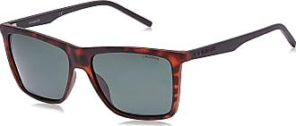 Polaroid Mens PLD 2050/S UC Sunglasses, DARK HAVANA, 55