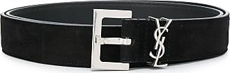 Saint Laurent YSL logo belt - Black