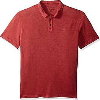 Quiksilver Mens Everyday Sun Cruise Polo TEE Shirt, Garnet, S