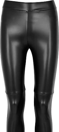Wolford Estella Leather Look Leggings Dress Size UK 14 EU 42 Black