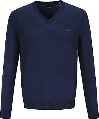 GANT V-Pullover GANT blau