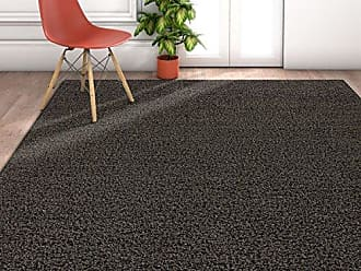 Well Woven TA-17-6 Enchanting Grey Modern Solid Soft and Fluffy Shag Area Rug 67 x 93