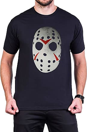Bandalheira Camiseta Jason Mascara 100% algodão