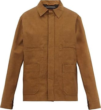 Haider Ackermann Cotton Work Jacket - Womens - Brown